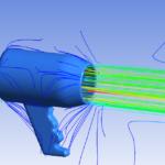 Hair Dryer  Flow Visualization