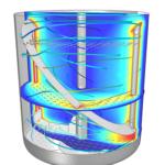 Mixer Flow Simulation