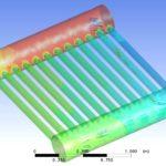 Solar Panel Flow Simulation