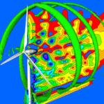 Wind Turbine Air Flow Simulation